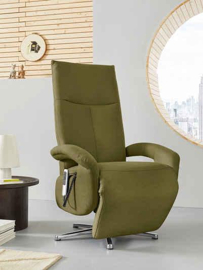 Places of Style TV-Sessel »Tycoon«, wahlweise mit zwei Motoren oder mit zwei Motoren und Akku oder mit 2 Motoren, Akku und Aufstehhilfe, in 2 Größen