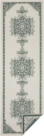 Läufer »Cosmea«, freundin Home Collection, rechteckig, Höhe 5 mm, Wendeteppich, In- und Outdoor geeignet