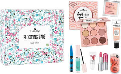 Essence Augen-Make-Up-Set »BLOOMING BABE beauty look«, 8-tlg.