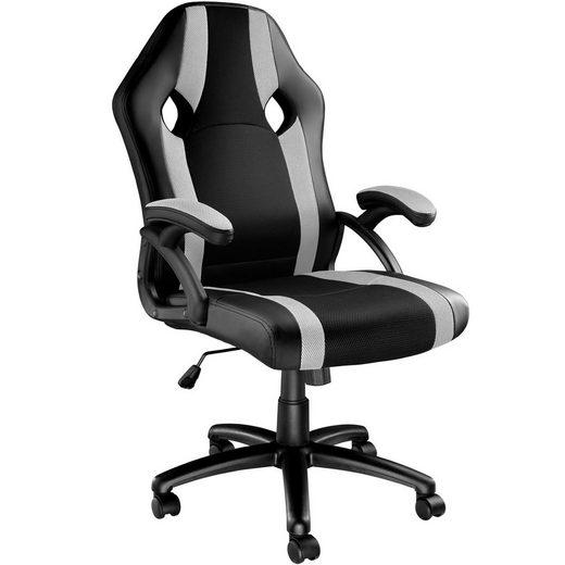 tectake Gaming-Stuhl »Bürostuhl Goodman« (1 Stück), einstellbare Wippmechanik