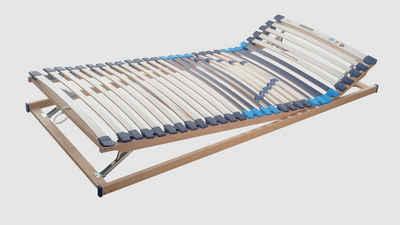 Lattenrost, »Lattenrost Basis (Meditop) VARIABEL«, Ravensberger Matratzen, 30 Leisten, Kopfteil manuell verstellbar, Fußteil manuell verstellbar, 30-Leisten80 x 200 cm - Bauhöhe 8 cm