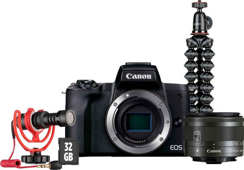 Canon »M50 Mark II« Kompaktkamera (24,1 MP, WLAN (Wi-Fi), Bluetooth)