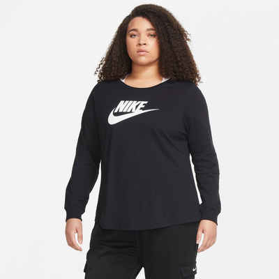 Nike Sportswear Langarmshirt »ESSENTIAL WOMENS T-SHIRT PLUS SIZE«