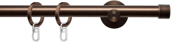 Gardinenstange »Consul 20«, indeko, Ø 20 mm, 1-läufig, Wunschmaßlänge