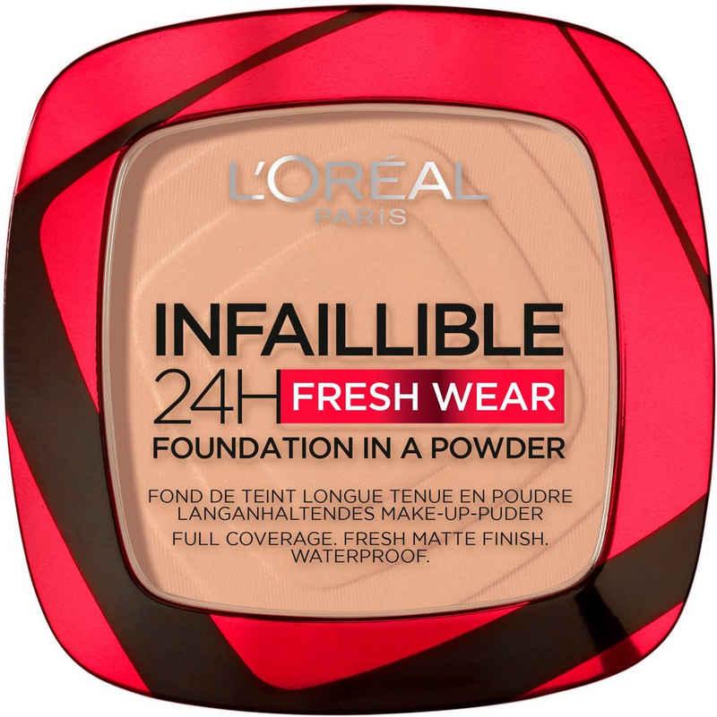 L'ORÉAL PARIS Puder »Infaillible 24H Fresh Wear Make-Up-Puder«