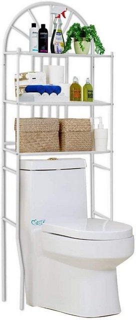 Badregale - COSTWAY Badregal »Badregal Waschmaschinenregal weiß«  - Onlineshop OTTO