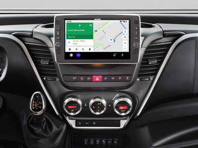 ALPINE Audio-System (Alpine X903D-ID, Iveco Daily Premium Infotainment System)