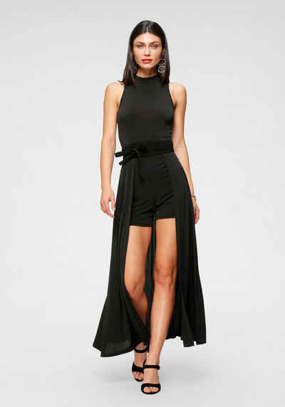 Melrose Overall mit angesetztem Rock im 2in1 Look