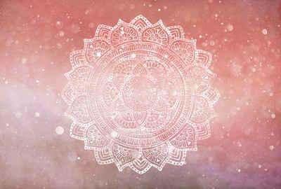 Architects Paper Fototapete »Atelier 47 Mandala Artwork 2«, glatt, orientalisch, (4 St)