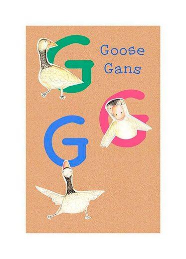 KOMAR XXL Poster »ABC Animal G«