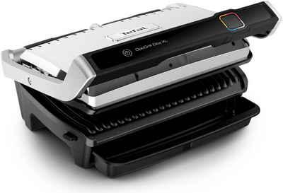 Tefal Kontaktgrill GC760D Optigrill Elite XL, 2200 W, 16 automatische Programme; Digital-Display; Countdown zum perfekten Grillergebnis; extra Grillboost für Grillstreifen