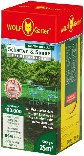 WOLF-Garten Rasensamen »LP 25 PREMIUM Schatten und Sonne«, 0,5 kg