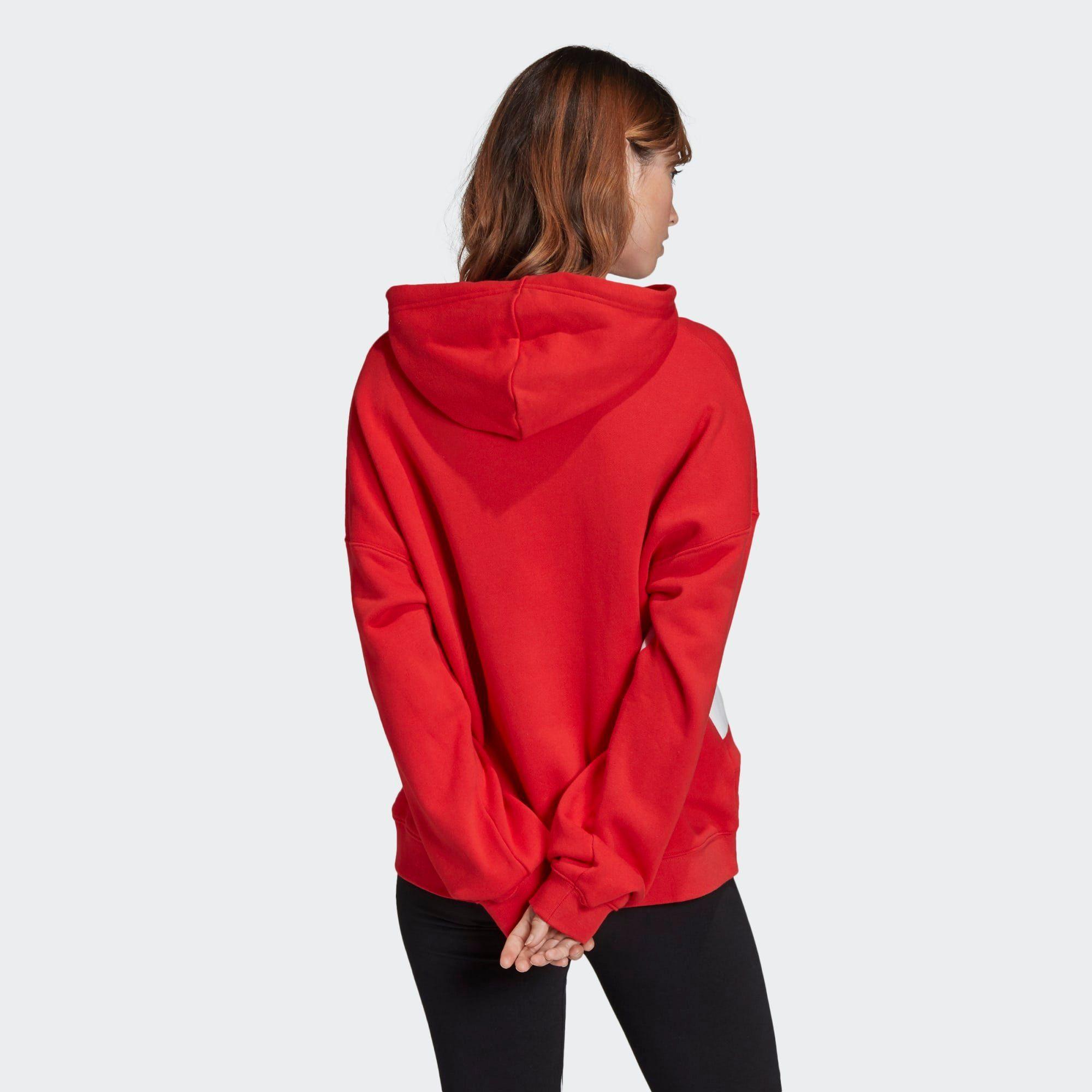 Adidas Originals Kapuzenpullover »large Logo Hoodie« Adicolor Online Kaufen