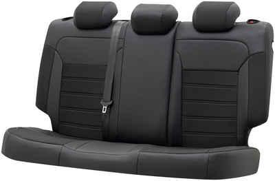 WALSER Autositzbezug »Aversa«, passgenau für Audi A6 Avant (4G5, 4GD, C7) 05/2011-09/2018, 1 Rücksitzbankbezug für Normalsitze