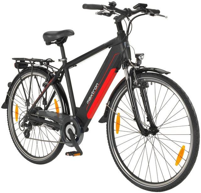 MAXTRON E-Bike Trekking »MT-1«, 28 Zoll, 8 Gang Heckmotor, 418 Wh*