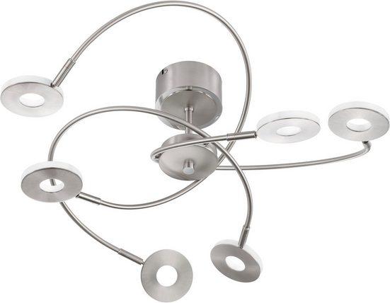 FISCHER & HONSEL LED Deckenspots »Dent«, LED Deckenleuchte, LED Deckenlampe