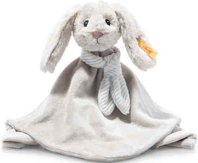 Steiff Schmusetuch »Soft Cuddly Friends Hoppie Hase«, mit Fingerpuppenfunktion