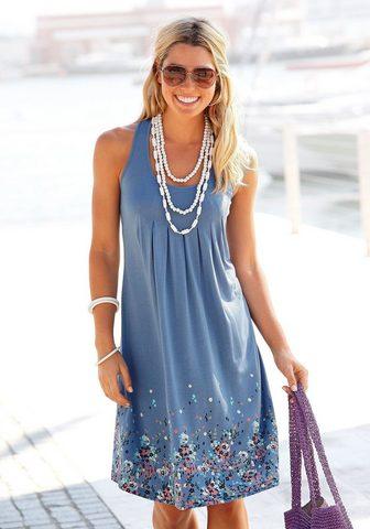 Beachtime Suknelė su Blumenprint