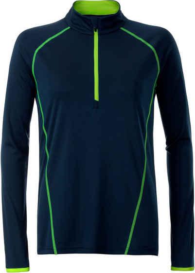 James & Nicholson Trainingsshirt »Langarm Funktionsshirt T-Shirt FaS50497«