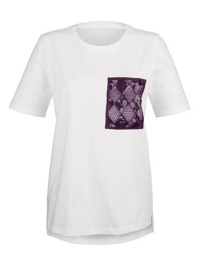 Laura Kent Shirt mit verzierter Brusttasche