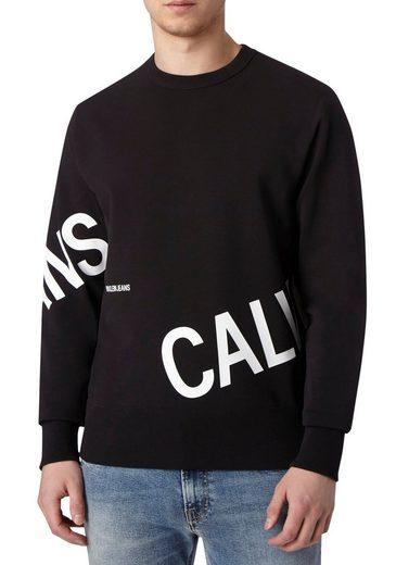 Calvin Klein Jeans Sweatshirt »STRETCH LOGO CREW NECK«