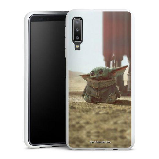 DeinDesign Handyhülle »Star Wars The Child« Samsung Galaxy A7 Duos (2018), Hülle Baby Yoda Star Wars Offizielles Lizenzprodukt