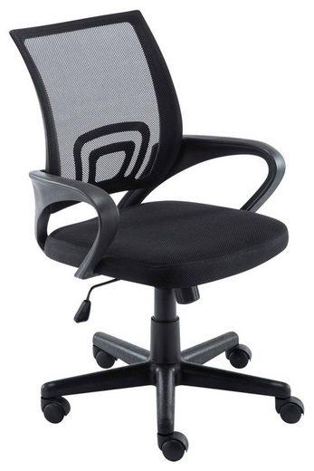 CLP Schreibtischstuhl »Genius Netzbezug«, höhenverstellbar und drehbar