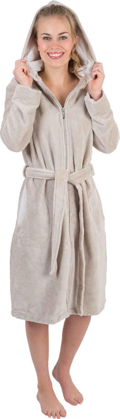 Damenbademantel »6122«, Wewo fashion, mit Schubtaschen
