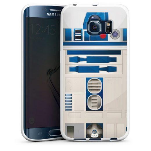 DeinDesign Handyhülle »R2D2 Closeup - Star Wars« Samsung Galaxy S6 Edge, Hülle Star Wars r2d2 Fanartikel