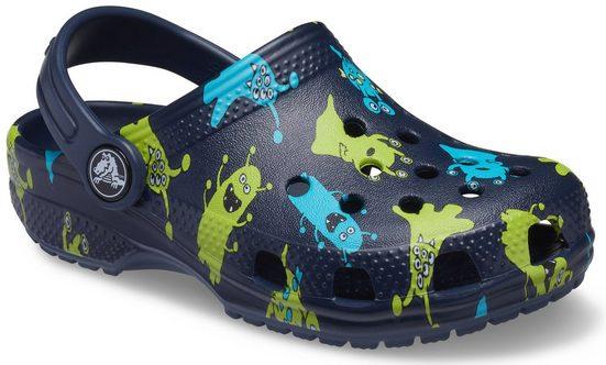 Crocs »Classic Monster Print Clog Kids« Clog