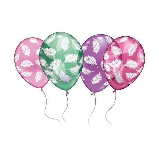 Karaloon 18 Ballons Federn