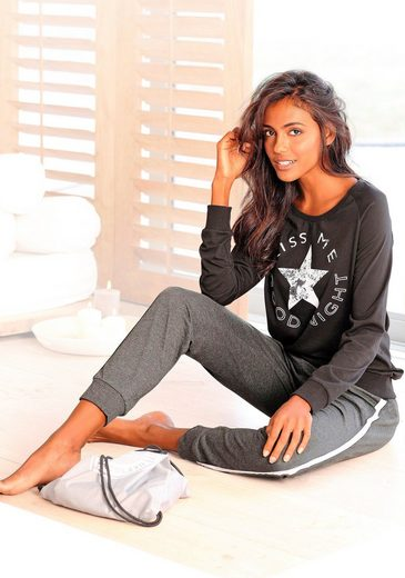 Buffalo Pyjama mit Sternenprint