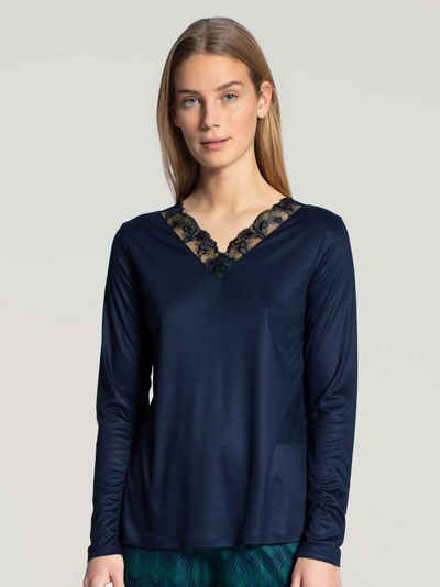CALIDA Pyjamaoberteil »Langarm-Shirt« (1-tlg)