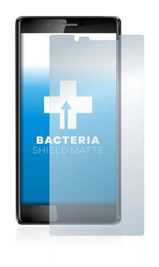 upscreen Schutzfolie »für Leagoo T10«, Folie Schutzfolie matt entspiegelt antibakteriell