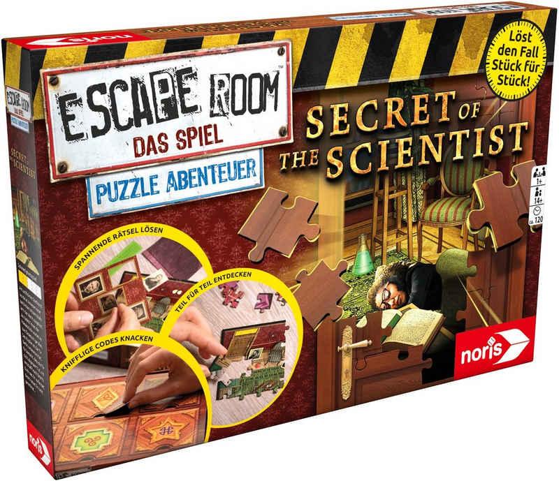 Noris Spiel, »Escape Room Das Spiel, Puzzle Abenteuer - Secret of the Scientist«