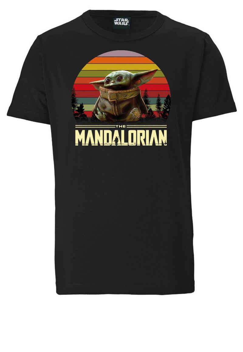 LOGOSHIRT T-Shirt »Star Wars – Baby Yoda« mit lizenziertem Print