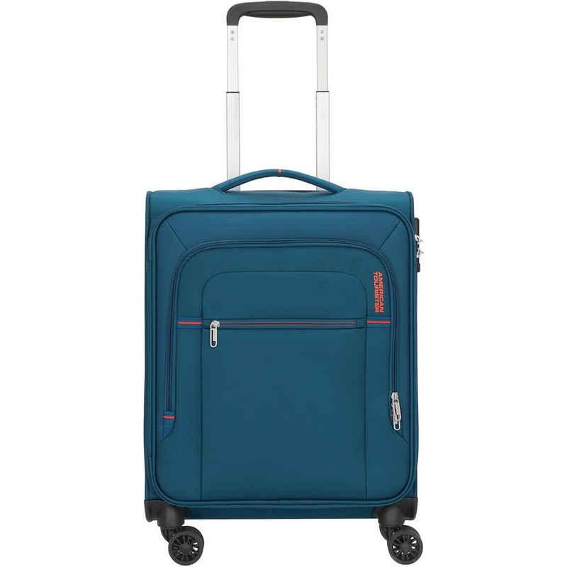 American Tourister® Handgepäck-Trolley »Crosstrack«, 4 Rollen, Polyester