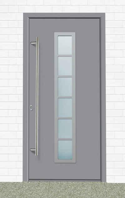 KM Zaun Haustür »A04«, BxH: 98x198 cm, grau, in 2 Varianten