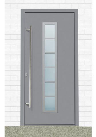 KM Zaun Haustür »A04« BxH: 98x198 cm grau in 2...