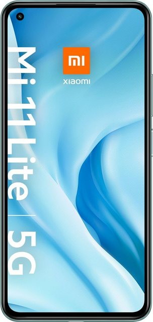 Xiaomi Mi 11 Lite 5G Smartphone (16,6 cm/6,55 Zoll, 128 GB Speicherplatz, 64 MP Kamera)