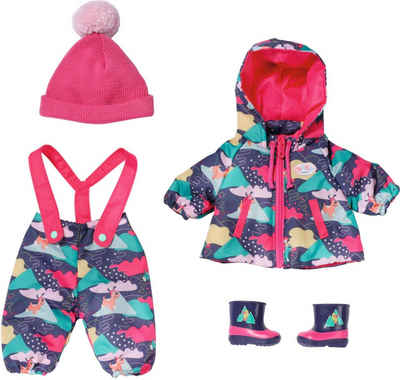 Baby Born Puppenkleidung »Deluxe Schneeanzug, 43 cm« (Set, 5-tlg)