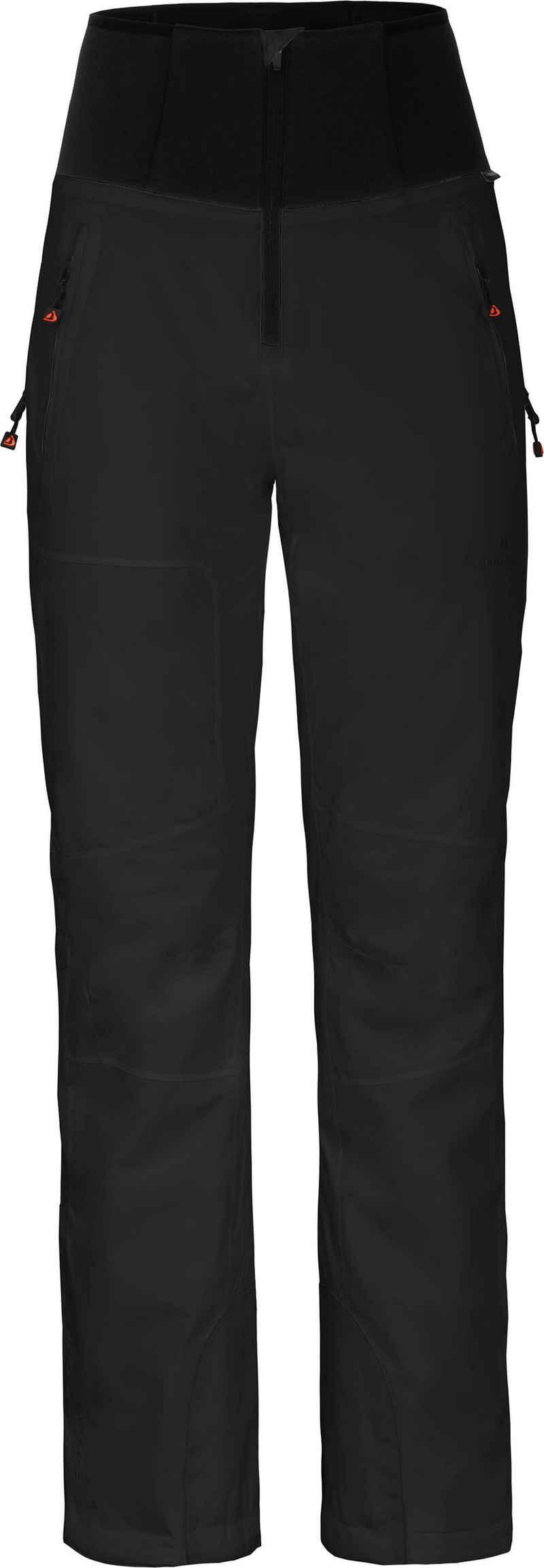 Bergson Skihose »MIEN Slim« Damen Skihose, wattiert, 20000 mm Wassersäule, Kurzgrößen, schwarz