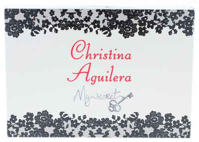 Christina Aguilera Eau de Parfum »Christina Aguilera My Secret Geschenkset 10ml EDP Chrsitina Aguilera + 10ml EDP By Night + Beutel«