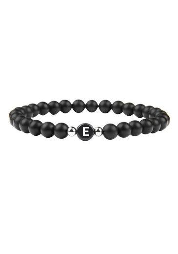GOOD.designs Armband »Buchstabenperlen E«