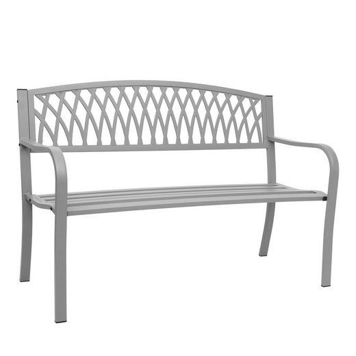MCW Gartenbank »MCW-F45«, Für den Innen- und Außenbereich, Stabile Konstruktion, Mit Armlehne, Zwei Sitzplätze