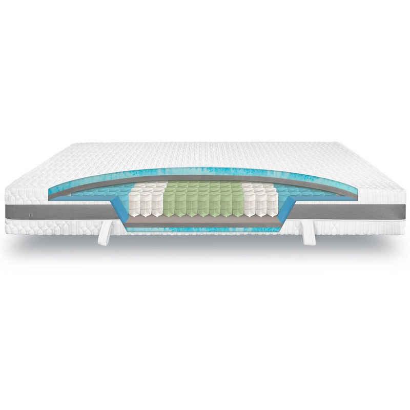 Taschenfederkernmatratze »King Ortho Luxe Hypersoft«, verapur, 30 cm hoch, Raumgewicht: 30, für verstellbare Lattenroste geeignet; als Wendematratze nutzbar; Partnermatratze
