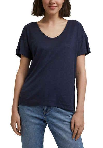 edc by Esprit T-Shirt in trendiger, melierter Optik