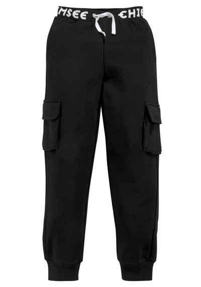 Chiemsee Sweatpants »mit großem Logo im Bund«