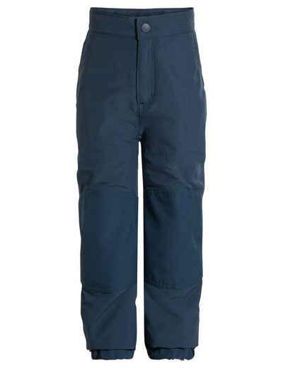 VAUDE Funktionshose »Kids Caprea warmlined Pants II« (1-tlg) Grüner Knopf