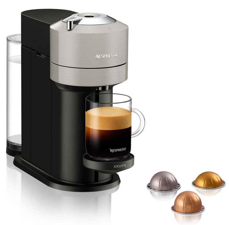 Nespresso Kapselmaschine XN910B Vertuo Next, neuartiges Kapselsystem, 54% aus recyceltem Material